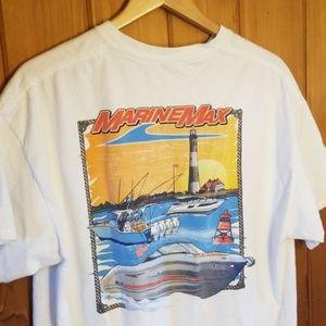 Marinemax tee shirt